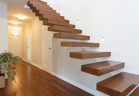 Escalier sur-mesure en bois